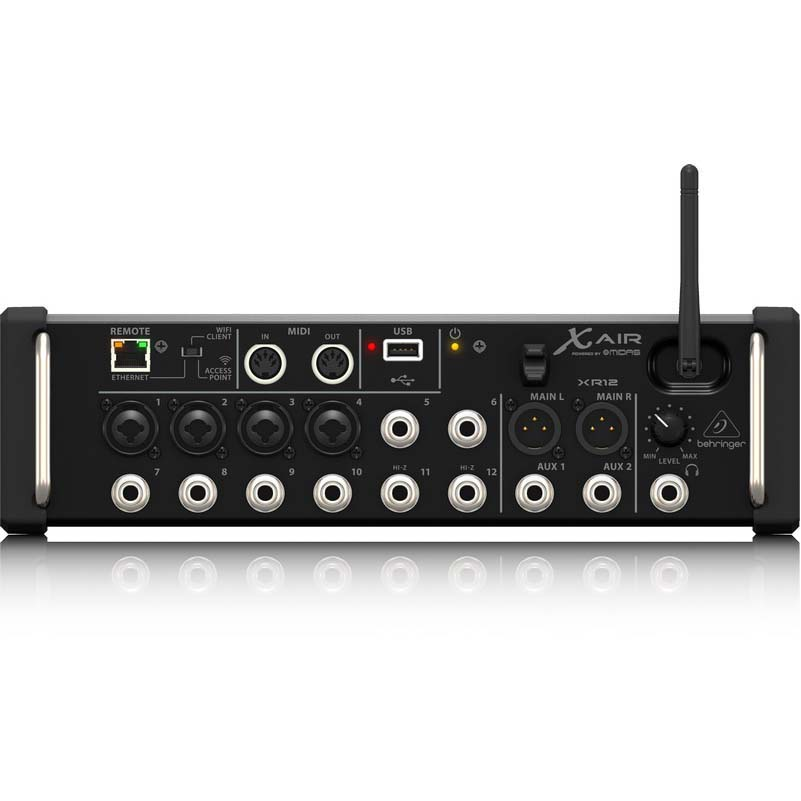 Mixer Digital  AIR XR12  Wifi e USB 12 Entradas - BEHRINGER