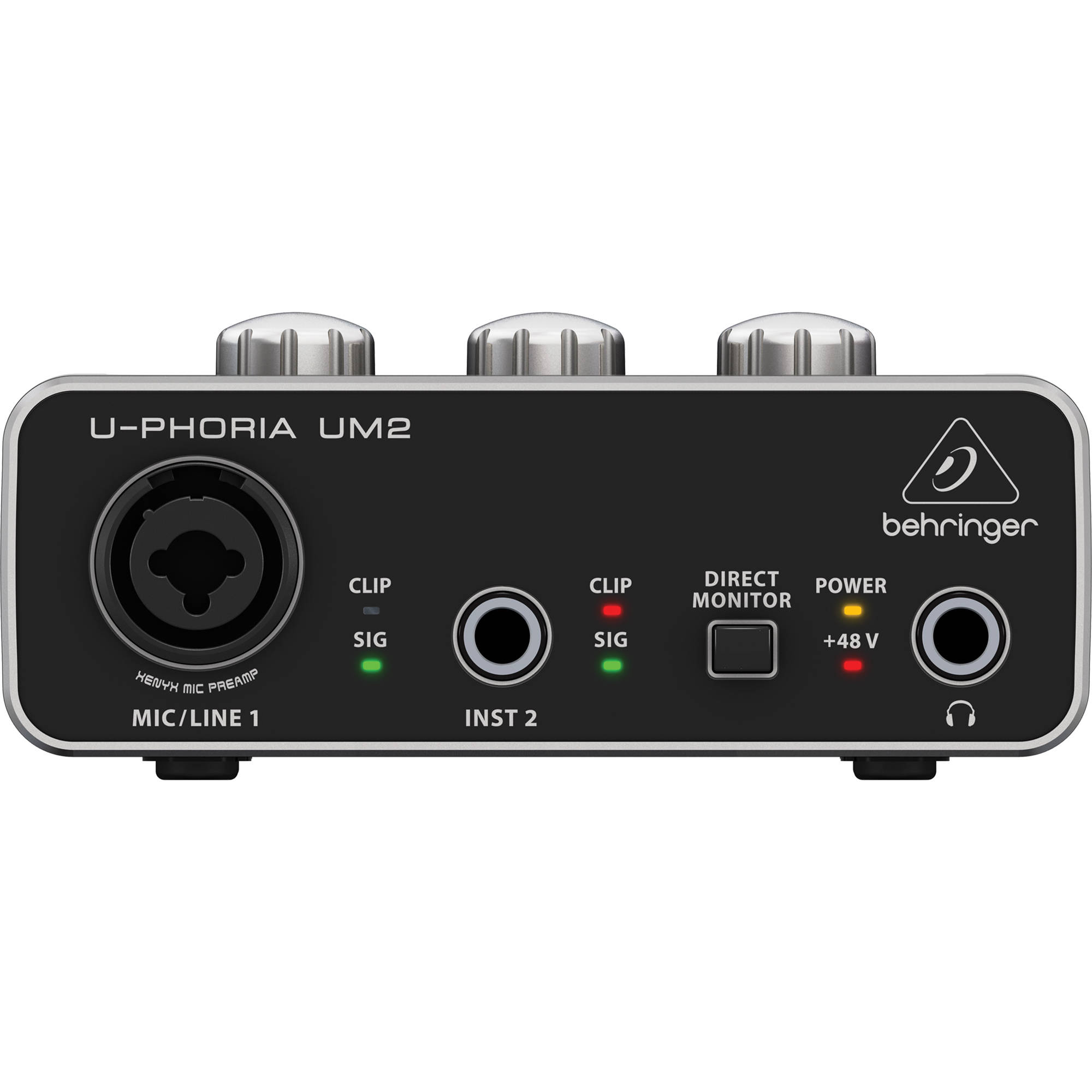 Interface de Áudio USB Audiophile 2x2  U-PHORIA  UM2 - BEHRINGER